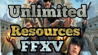 Sınırsız Kaynakları Almak Final Fantasy XV: Yeni BİR İmparatorluk!