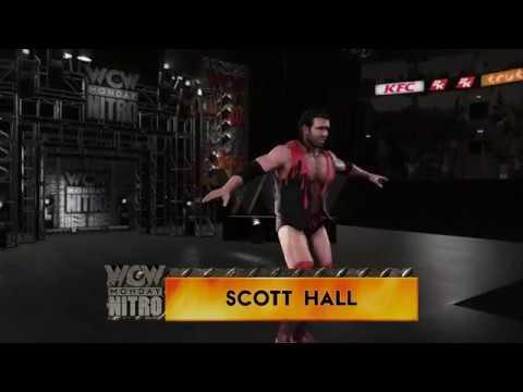 WWE 2K18 Scott Hall vs. Kevin Nash WCW Monday Nitro (PS4, Xbox One)