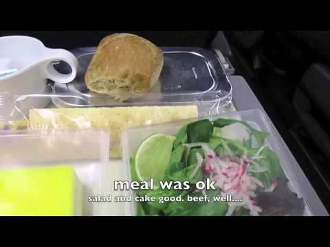 SAS flight review Dulles to Copenhagen