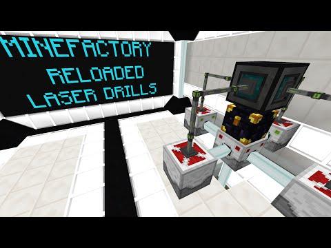 MineFactory Reloaded Laser Drill & Laser Drill Focus Tutorial