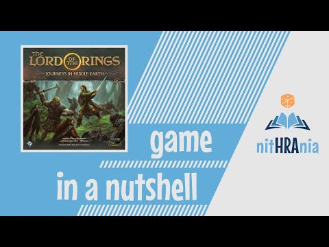 The Lord of the Rings: Journeys in Middle-earth | Board Game