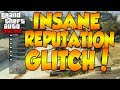 "GTA 5 ONLINE: *NEW* 2M/HR REPUTATION GLITCH  ""HOW TO RANK UP FAST"" AFTER PATCH 1.08 - GTA V"