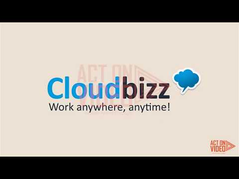 CLOUD BIZZ Work Anywhere Anytime (Part 1) | Screen Cast Explainer Video