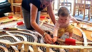 Family Fun With Kids And Train Sets - Toy Train Track 25