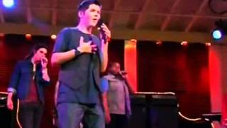 the glee project-Funny Moment and Lean on Me