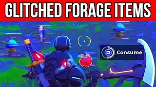 Consume GLITCHED Foraged Items Location - Fortnite Junk Storm Challenges Season X / 10