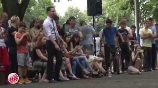 Во Владикавказе прошли соревнования по воркауту и паркуру
