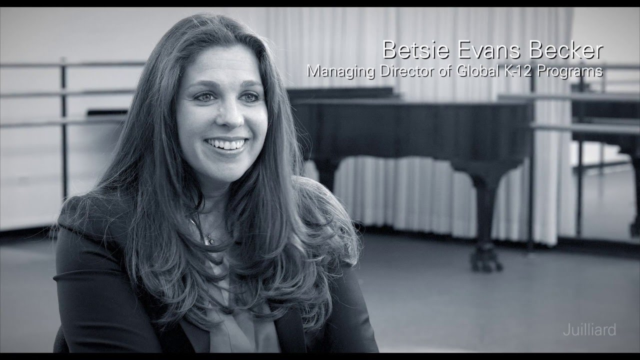 Juilliard Snapshot: Betsie Becker on Juilliard and Nord Anglia Education