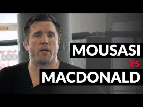 Rory MacDonald vs Gegard Mousasi