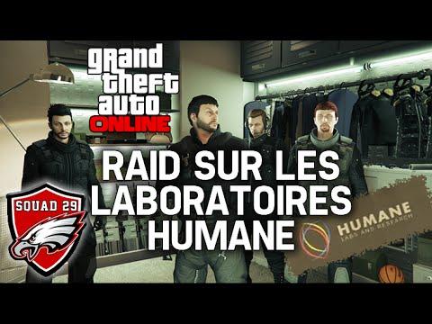 [GTA Online] Raid sur les laboratoires Humane