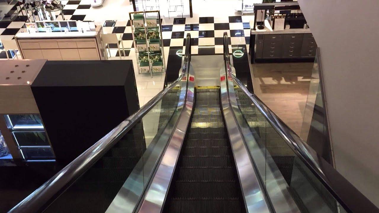 westinghouse escalators at bloomingdales