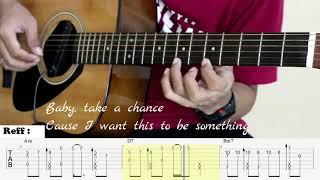 I Love You 3000 - Stephanie Poetri - Fingerstyle Guitar Cover - Tutorial TAB.