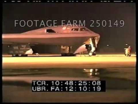 Operation Iraqi Freedom, B-2 Sprit Taxi & Take Off 250149-06   Footage Farm