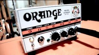 Orange Micro Terror + PPC212 cob (Review)