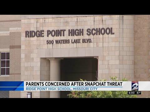Parents concerned after Snapchat threat