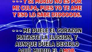 MURIO EL AMOR PAOLA JARA KARAOKE VOZ Y LETRA