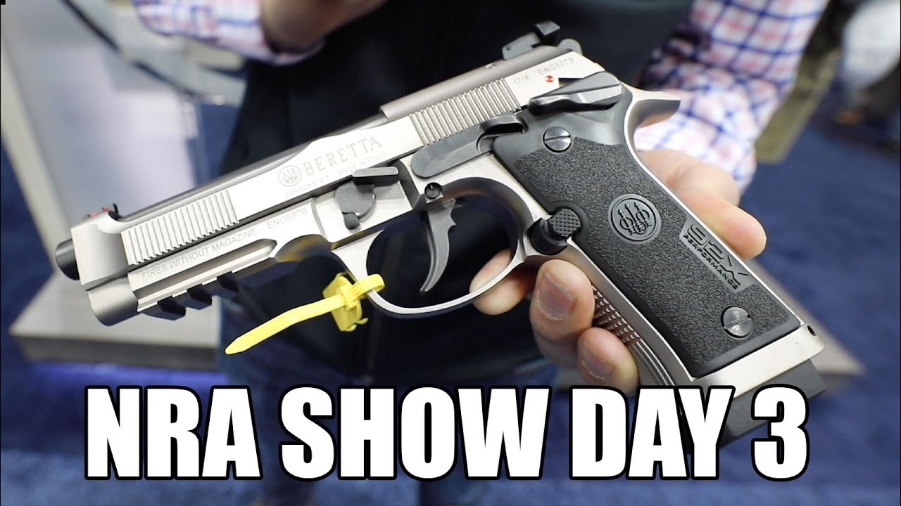 NRA Show 2019: Day 3 - 25 More Minutes Of New Firearms