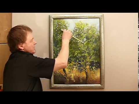 Jak Namalować Obraz Farbami Akrylowymi Drzewa 2 Cz 3 Vlog 151