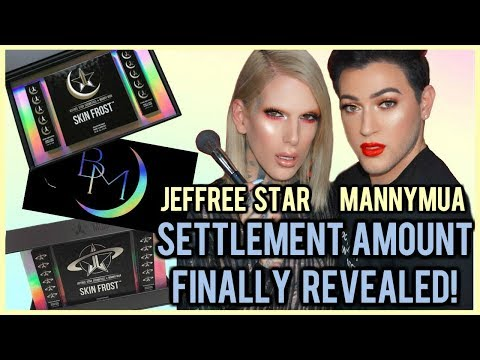 SETTLEMENT AMOUNT REVEALED!! ⎮ JEFFREE STAR & MANNYMUA v. BLACKMOON COSMETICS