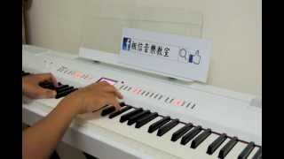 韓劇「想你」片尾曲-陳妍希 sorry 孟儒老師鋼琴演奏版