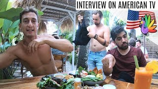 My Interview with American News Channel on Veganism in Bali