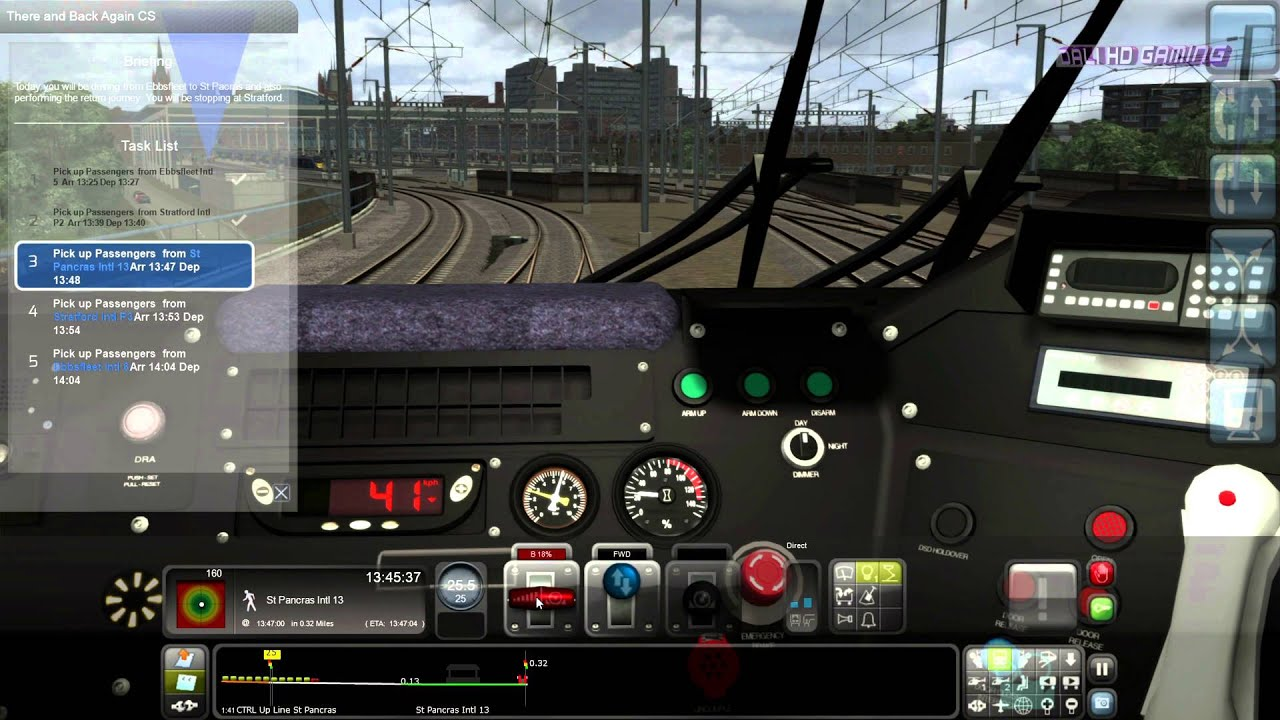 Train Simulator 2014 London Faversham High Speed PC 4K Gameplay 2160p