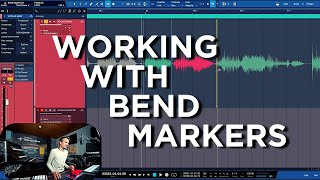 How to quantize Audio with Bend Markers in Studio One