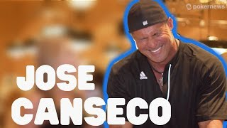 Baseball Legend Jose Canseco Talks Poker and Bash Brothers