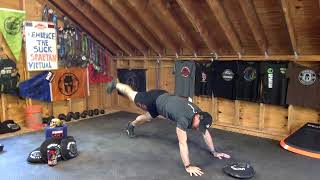 Spartan Plank Wars 6 Virtual Workout