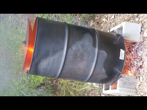 DIY - New burn barrel