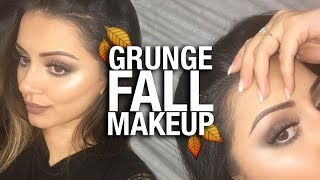GRUNGE AUTUMN/FALL MAKEUP TUTORIAL + 2 Lip Options  Milk1422 Inspired