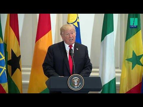 """Donald Trump invente un nouveau pays africain, la """"Nambia"""""""