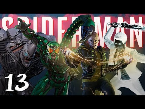 ALL VILLIANS FREE : Marvels SpiderMan PS4 Part 13