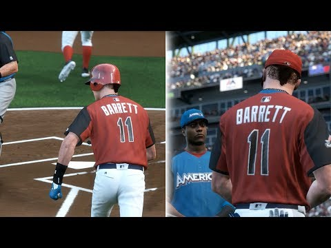INSIDE THE PARK HOME RUN IN FIRST EVER ALL STAR GAME AT BAT! MLB THE SHOW 17