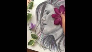 Drawing Super Model Behati Prinsloo