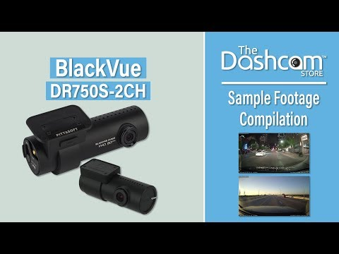 BlackVue Dr750s-2CH Dash Cam Sample Footage   by The Dashcam Store