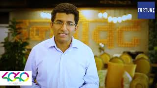 Dr Ritesh Malik gets included in the prestigious Fortune Magazine 40 Under 40 Influential Leaders