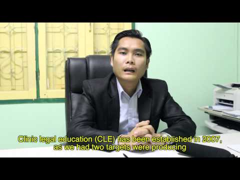 National University of Laos Faculty of Law and Political Science CLE Program Student Video