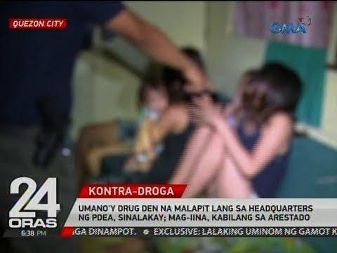 Umano'y drug den na malapit lang sa headquarters ng PDEA, sinalakay; mag-iina, kabilang sa arestado