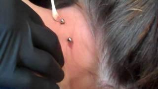 Nape Piercing