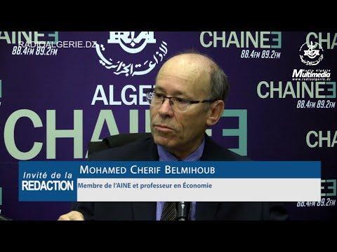Mohamed Cherif Belmihoub Membre de l'AINE et professeur en Économie