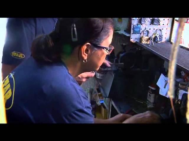 Trabajadoras. Doris Rodríguez, cerrajera