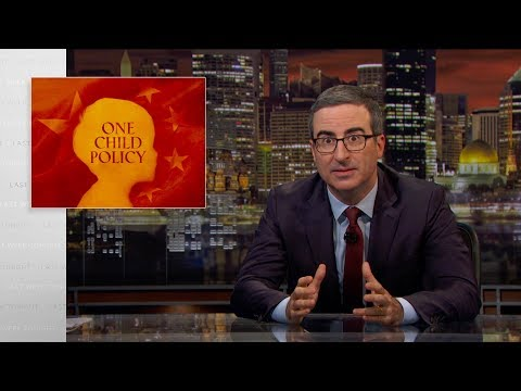 John Oliver on Origins, Negative Effects of China's Former 'One Child' Policy
