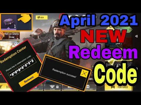 *NEW* April 2021 Redeem Code Cod Mobile Gerena   Cod Mobile Redeemption Code 2021   Codm Redeem Code