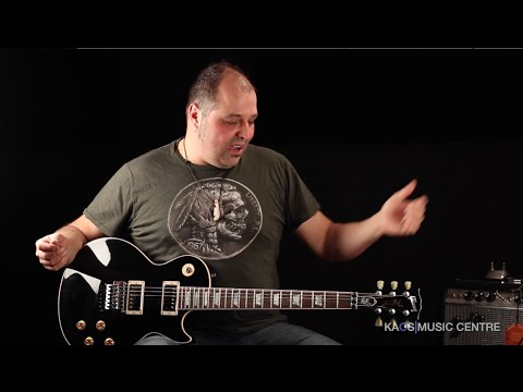 Kaos Gear Demo Gibson Alex Lifeson Les Paul Axcess Black Youtube