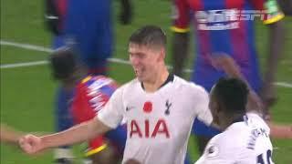 Foyth marca, e Tottenham vence o Crystal Palace na Premier League