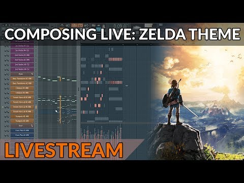Composing Music From Scratch - Epic Orchestral Zelda Theme