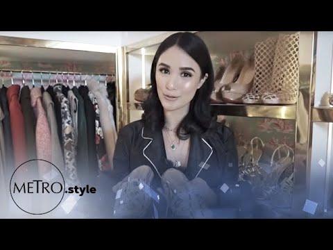 EXCLUSIVE: Heart Evangelista's Walk-in closet