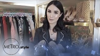 EXCLUSIVE: Heart Evangelista's Walk-in closet