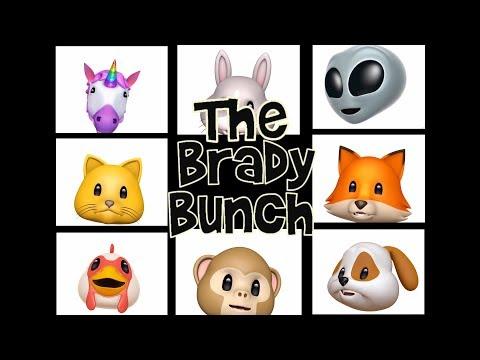 Animoji Karaoke - Brady Bunch Theme Song